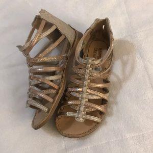 Little girl sandals